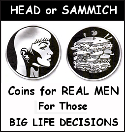 Head or Sammich Coin